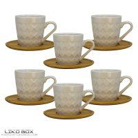 سرویس قهوه خوری ۱۲ پارچه کد LX1311
