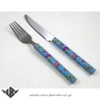 چاقو و چنگال میوه خوری گرین هوم کد KF-04